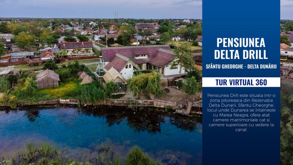 Tur Virtual 360 Pensiunea Delta Drill - Sf. Gheorghe